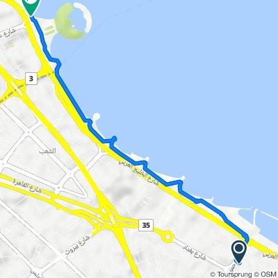 السالمية to Arabian Gulf Street, Kuwait City