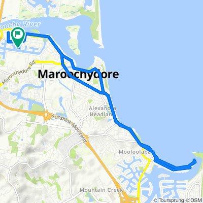 April Court 15, Maroochydore to April Court 17, Maroochydore