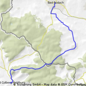 Bad Colberg-Heldburg-Bad Rodach