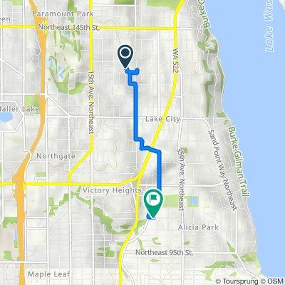 13527 23rd Ave NE, Seattle to 2727 NE 103rd St, Seattle