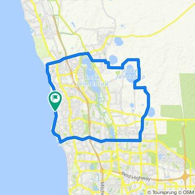 Club Ride - Mullaloo - Mariginup Loop