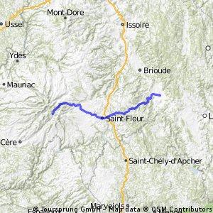 Étape 7 St-Jacques-des-Blats - St-Georges Gi