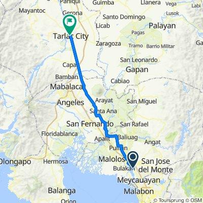 MacArthur Highway, Bocaue to Tarlac - Pangasinan Road 67, Tarlac City