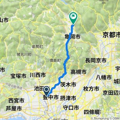 1-9, Tamaicho 4-Chōme, Toyonaka to Chitosechochitose, Kameoka