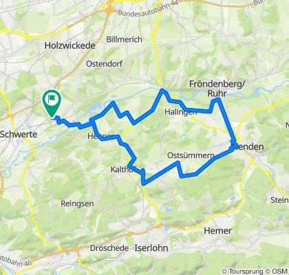Geisecke/Fröndenberg/Menden/Sümmern/Hennen