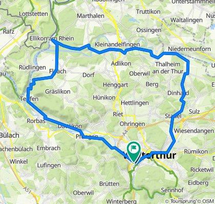 Winterthur Andelfingen Teufen Winterthur