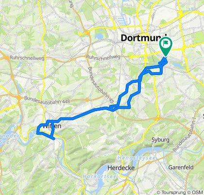 Semerteichstraße 105, Dortmund nach Semerteichstraße 105, Dortmund