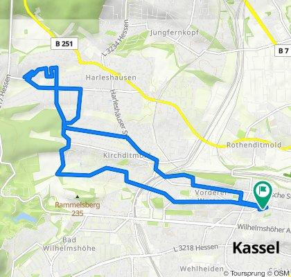 Goethestraße 1, Kassel nach Goethestraße 1, Kassel
