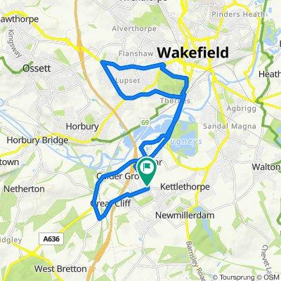 2 The Willows, Wakefield to 3 The Willows, Wakefield