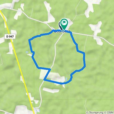 De Route de Herm 100, Gourbera à Rue du Bourg 50, Gourbera