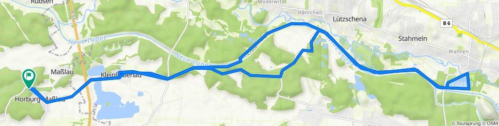 Burgauenstraße 49, Leuna nach Burgauenstraße 49, Leuna