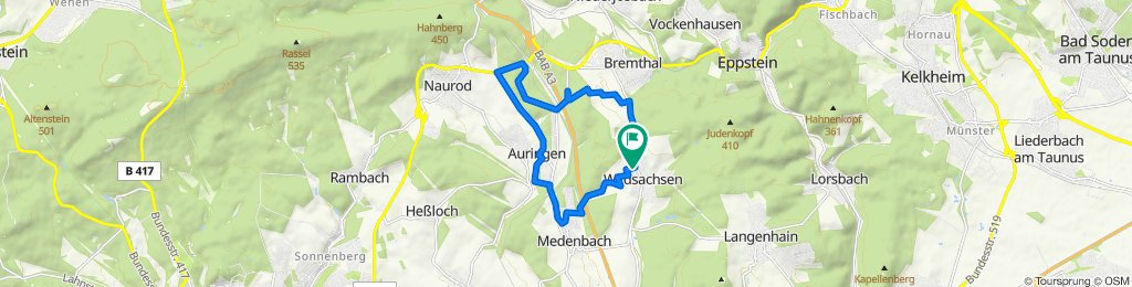 Auringer Weg 4, Hofheim am Taunus nach Auringer Weg 4, Hofheim am Taunus
