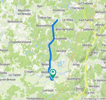 De 214 Impasse du Vieux Moulin, Villevieux à 221 Impasse du Vieux Moulin, Villevieux