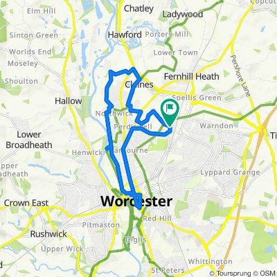 3 Drovers Way, Worcester to 3 Drovers Way, Worcester