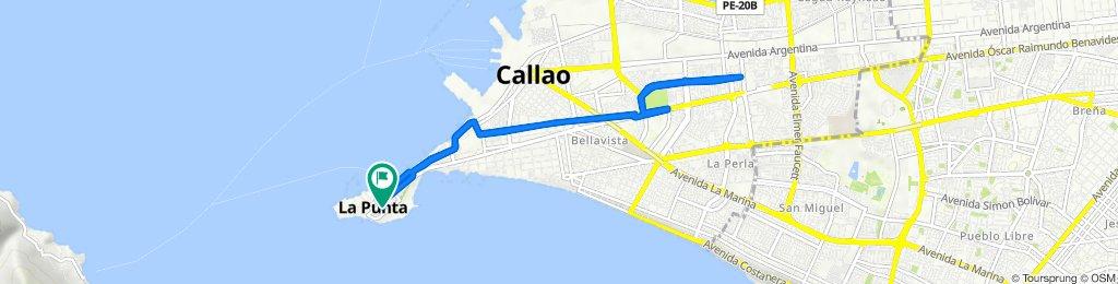 De Jirón Larco, Callao a Jirón Larco, Callao