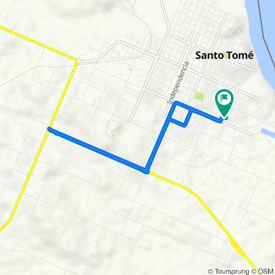 De Avenue Gervasio Artigas 1365, Corrientes a Avenue Gervasio Artigas 1365, Corrientes
