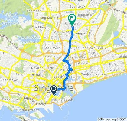 Marina Boulevard 8, Singapore to Brighton Avenue 23, Singapore