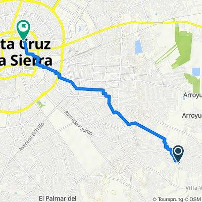 De Santa Cruz de la Sierra a G.Velasco 76, Santa Cruz de la Sierra