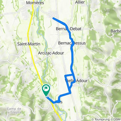 De 1–51 Chemin de Barricave, Hiis à 16 Chemin de Barricave, Hiis