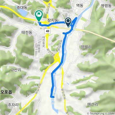 Gwangnam-dong 127-2, Gwangju-si to Gwangnam-dong 16-76, Gwangju-si