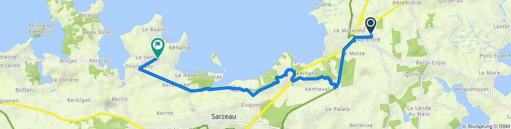 De Sarzeau à Route de Saint-Martin 21, Sarzeau