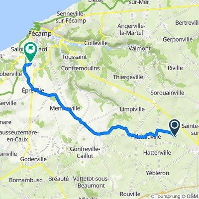 Itinéraire vers 178–228 Impasse des Châtaigniers, Saint-Léonard