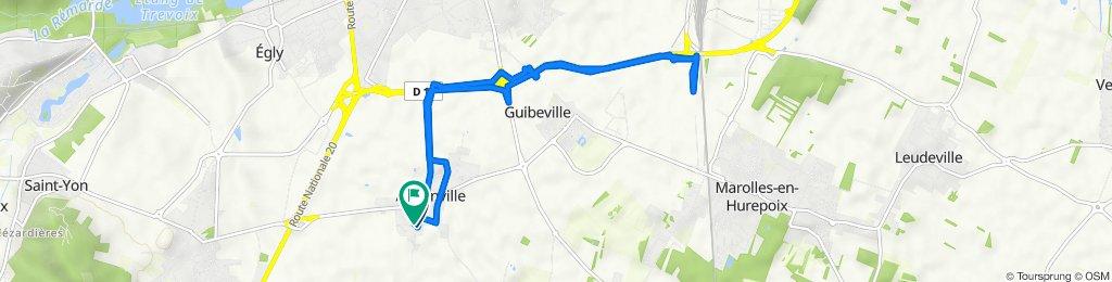 De Rue de la Forêt 9, Avrainville à Rue de la Forêt 16, Avrainville
