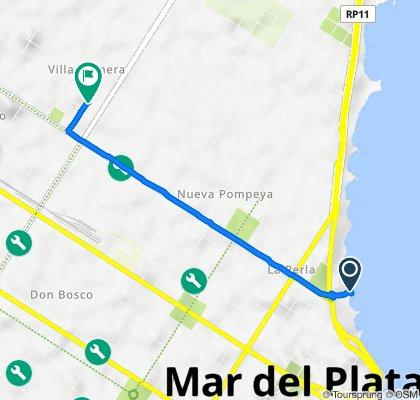 De Avenida Patricio Peralta Ramos 1020, Mar del Plata a 1° de Mayo 754, Mar del Plata