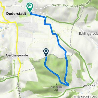Duderstadt Tour Mountainbike