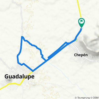 De Avenida Genao Silva Cotrina 455, Chepén a Avenida Genaro Silva Cotrina 459, Chepén