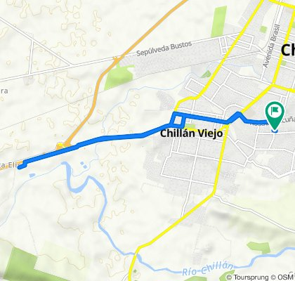 De Génova 716, Chillán a Génova 711, Chillán