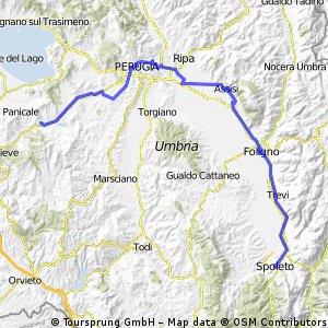 3. Tag (Tavarnelle - Spoleto)
