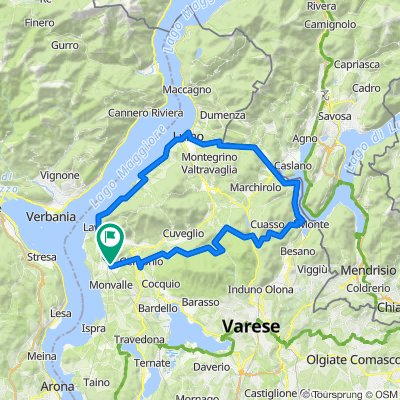 Alpi Tedesci route