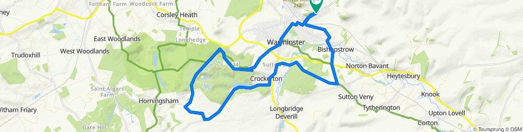 290 Firbank Crescent, Warminster to 286 Firbank Crescent, Warminster