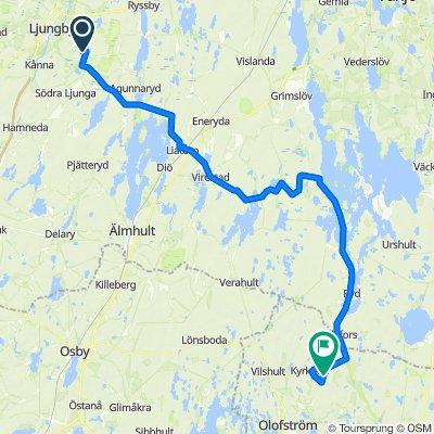 Tour de Banvallsleden.