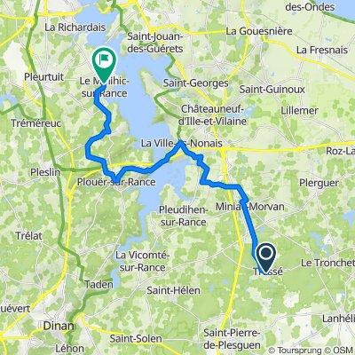 De 114 Le Bourg, Tressé à 50 Rue du Général de Gaulle, Le Minihic-sur-Rance