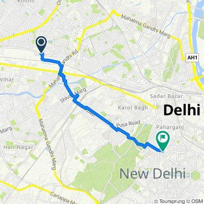 New Delhi to New Delhi