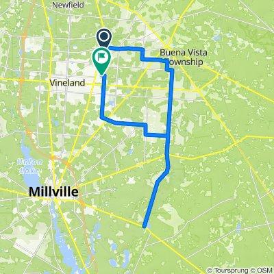 1790 Galli Dr, Vineland to 1730–1948 Maple Ave, Vineland