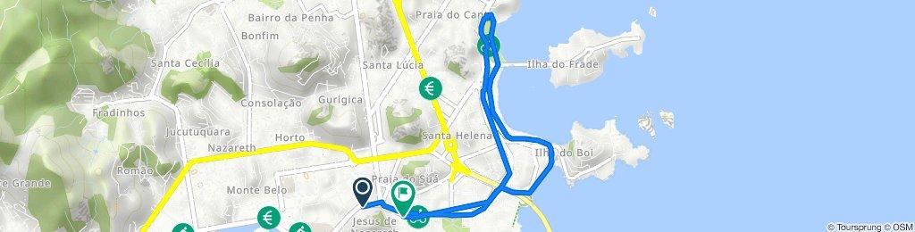 De Avenida Marechal Mascarenhas de Moraes, 2684, Vitória a Avenida Nossa Senhora dos Navegantes, 270, Vitória
