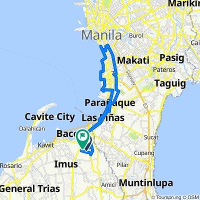 Term Break Cav to Manila
