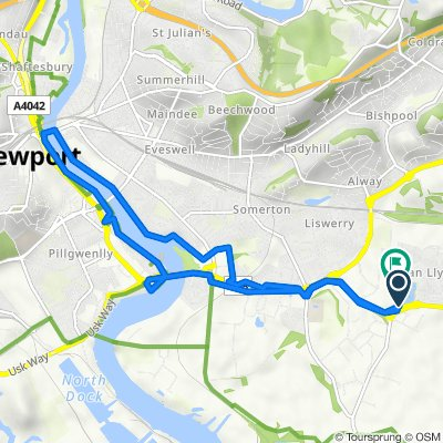 110 Spencer Way, Newport to 84 Spencer Way, Newport