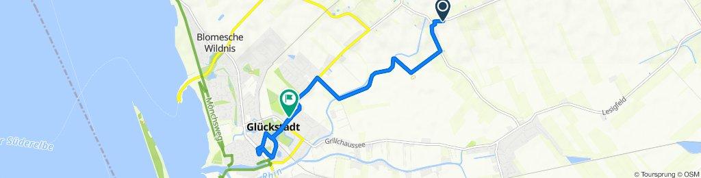 Dorfstraße, Elskop nach Itzehoer Straße 7, Glückstadt
