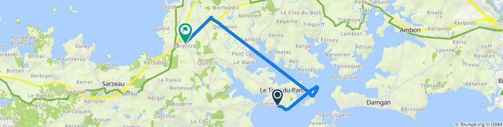 De Impasse des Courlis 5, Le Tour-du-Parc à Sarzeau