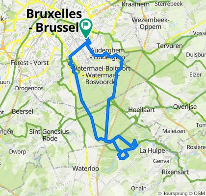 Avenue Le Marinel 15, Etterbeek to Avenue Le Marinel 3–15, Etterbeek