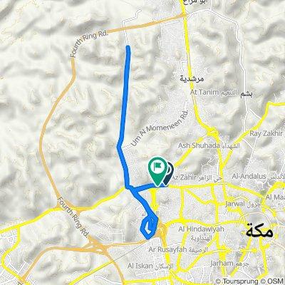 طريق مكة جدة القديم 3764 to طريق مكة جدة القديم 3331