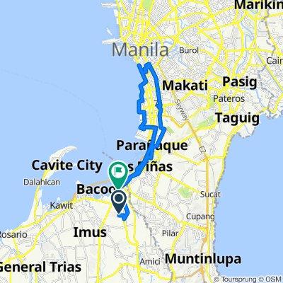 Balete Drive, Bacoor to Emilio Aguinaldo Highway 8, Bacoor