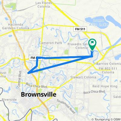 Charmaine Lane 3600, Brownsville to Charmaine Lane 3600, Brownsville