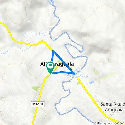 De Avenida Jerônimo Samita Maia, Alto Araguaia a Avenida Jerônimo Samita Maia, Alto Araguaia