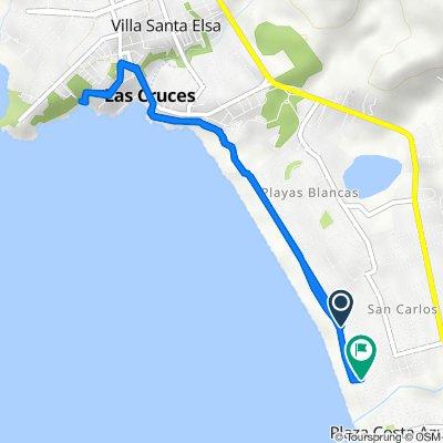 De Avenida La Playa 2248–2252, El Tabo a Avenida Brasil 2–58, El Tabo