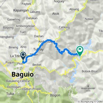 Draix Street, La Trinidad to Ambuklao Dam Access Road, Bokod